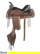 "** SALE ** 16"" American Saddlery The Parade of Diamonds Saddle 251"