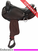 "SOLD 2016/11/17  16"" Big Horn Center Fire Endurance Saddle 118 CLEARANCE"