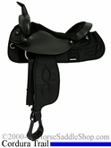 "16"" Big Horn Corura Suede Seat Trail Saddle 167 267"