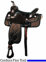 "** SALE ** 16"" Big Horn Cushion  Ralide Flexible Tree Saddle 288"
