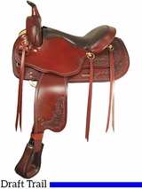 "16"" Big Horn Draft Horse Saddle 1682"