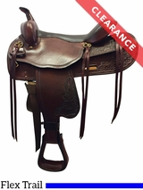 "SOLD 2017/01/06  16"" Big Horn Draft Horse Saddle 1682 CLEARANCE"