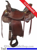 "SOLD 12/3/13 $843.20 16"" Big Horn Evolution Trail Saddle 1690"