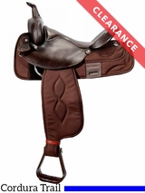 """16"""" Big Horn Extra Wide Trail Saddle 306"""