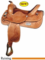 "16"" Big Horn Flex Reining Saddle 848"