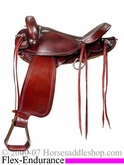 "16"" Big Horn Flex Tree Endurance Saddle FQHB 804"