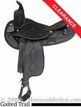 "SOLD 2016/04/24 16"" Big Horn Gaited Cordura Saddle 605 CLEARANCE"