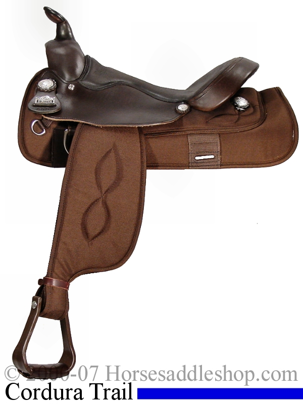 16inch Big Horn Cordura Haflinger Saddle