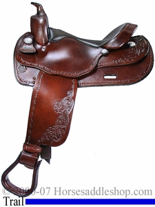 16inch Big Horn Haflinger Saddle