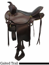 "16"" Big Horn Infinity II Flex Gaited Trail Saddle 1649"