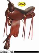 "16"" Big Horn Infinity II Trail Saddle 1649"