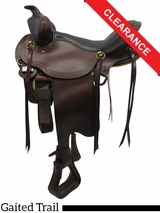 "16"" Big Horn Infinity II Trail Saddle 1649 CLEARANCE"