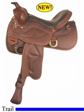 "16"" Big Horn Low Moose Sof-Tee Trail Saddle 933"