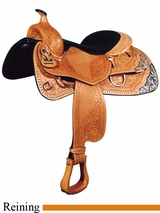 "16"" Big Horn Performance Reiner Saddle 839"