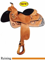 "16"" Big Horn Performance Reiner Saddle FQH 839"