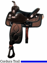 "** SALE ** 16"" Big Horn Ralide Wide Flex Tree Saddle 302"