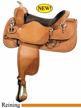 "16"" Big Horn Reining Saddle 849"