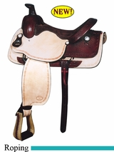"16"" Big Horn Roping Saddle 828"