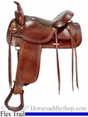 "16"" Big Horn Trial Saddle w/ Flex Tree FQHB 1655"