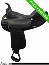 "16"" Big Horn Synthetic Arabian Saddle 283"