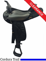 "16"" Big Horn Synthetic Saddle 105 CLEARANCE"