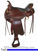 "16"" Big Horn Voyager Flex Tree Trail Saddle 1638"