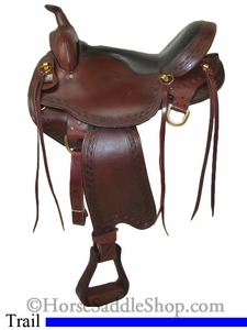 "16"" 17"" Big Horn Voyager Flex Tree Trail Saddle 1638, 1639, 1637"