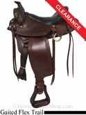 "SOLD 2014/07/09 $1081.60 16"" Big Horn Western Flex Gaited Saddle 1686"