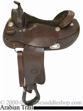 """DISCONTINUED 16"""" Billy Cook  Arabian Saddle 8930"""