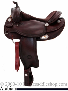 "DISCONTINUED 16"" Billy Cook Arabian Southwest Border Saddle 8931"