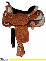 "15"" 16"" Billy Cook California Show Saddle 9014"