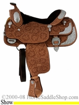 "16"" Billy Cook California Show Saddle 9014"