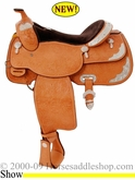 "16"" Billy Cook Close Contact Show Saddle #10-2098"