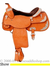 "16"" Billy Cook Close Contact Show Saddle 2098"