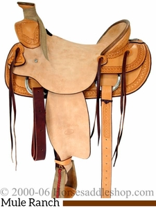 """16"""" Billy Cook Ranch Mule Saddle 2280"""