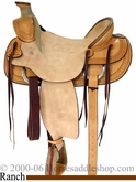 "16"" Billy Cook Mule Saddle 2280"