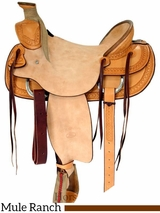 "** SALE ** 15.5"" 16"" Billy Cook Ranch Mule Saddle 2280"