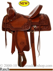 "16"" Billy Cook Nebraska Rancher Saddle 2800"