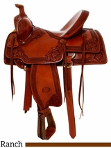 "** SALE ** 15.5"" to 17"" Billy Cook Nebraska Rancher Saddle 2800"