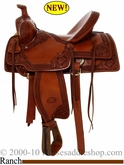 "16"" Billy Cook Nebraska Rancher Saddle #10-2800"