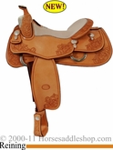 "DISCONTINUED 16"" Billy Cook Reining Show Saddle 6025"
