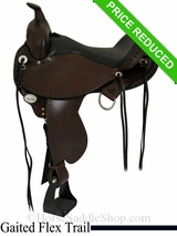 "16"" Circle Y Alabama Flex2 Trail Gaiter Saddle 1581"