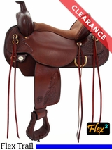 "SOLD 2017/01/13  16"" Circle Y Carlsbad Flex-Lite Trail Saddle 2376 CLEARANCE"