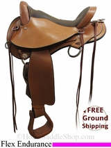 "16"" Circle Y Cross Creek 1577 Flex2 Endurance Saddle, Exclusive uscy3101 *Free Shipping*"