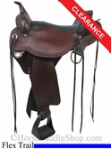 "SOLD 2014/03/08 $1439.10 16"" Circle Y Flagstaff Flex2 Trail Saddle 1571"