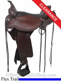 "SOLD 2014/07/14 $1529.10 16"" Circle Y Flagstaff Flex2 Trail Saddle 1571"