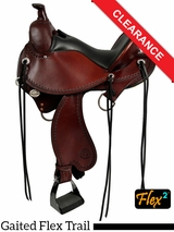 "SOLD 2016/05/31 16"" Circle Y Kentucky Flex2 Trail Gaiter Saddle 1582 CLEARANCE"