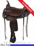 "16"" Circle Y Omaha Flex2 Trail Saddle 1554"