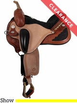 "16"" Circle Y Pam Grace Flex2 Wide Western Dressage 1850 CLEARANCE"