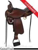 "16"" Circle Y Superide Yosemite Gaited Trail Saddle 3875"